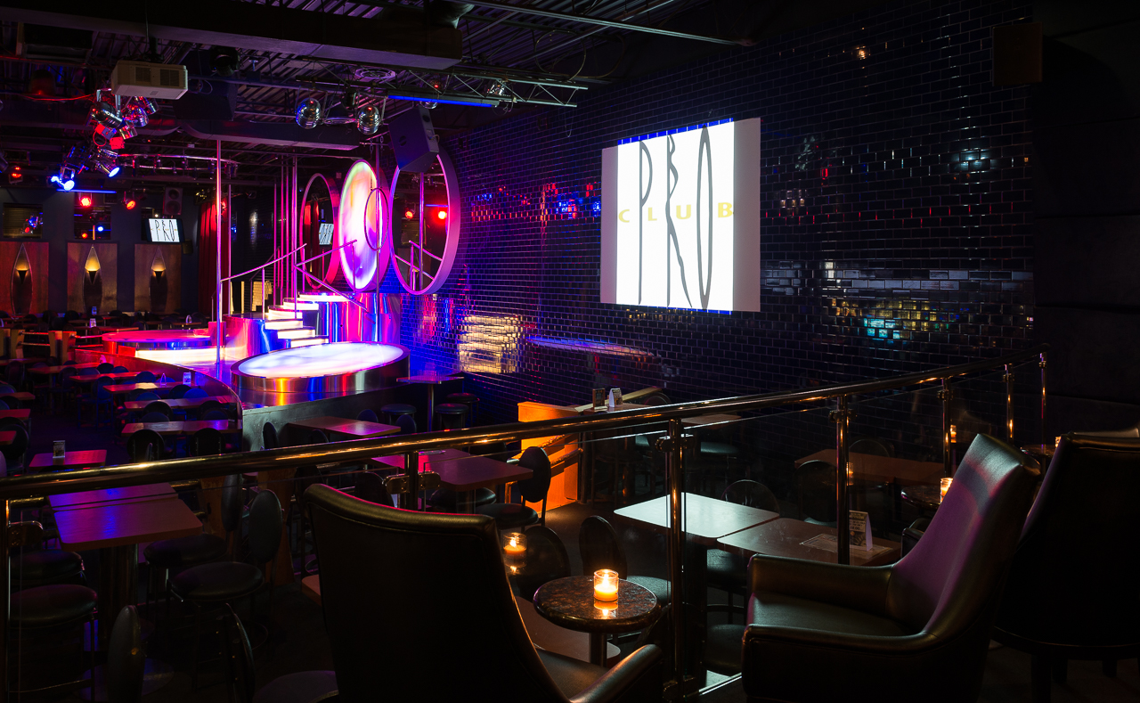 Main stage from the Martini Bar