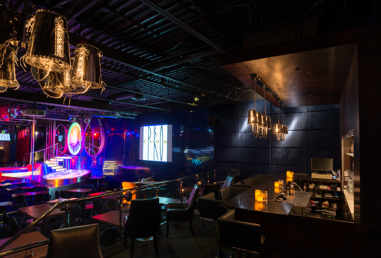 Martini Bar view of main stage