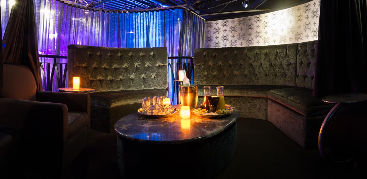 Mezzanine VIP Booth