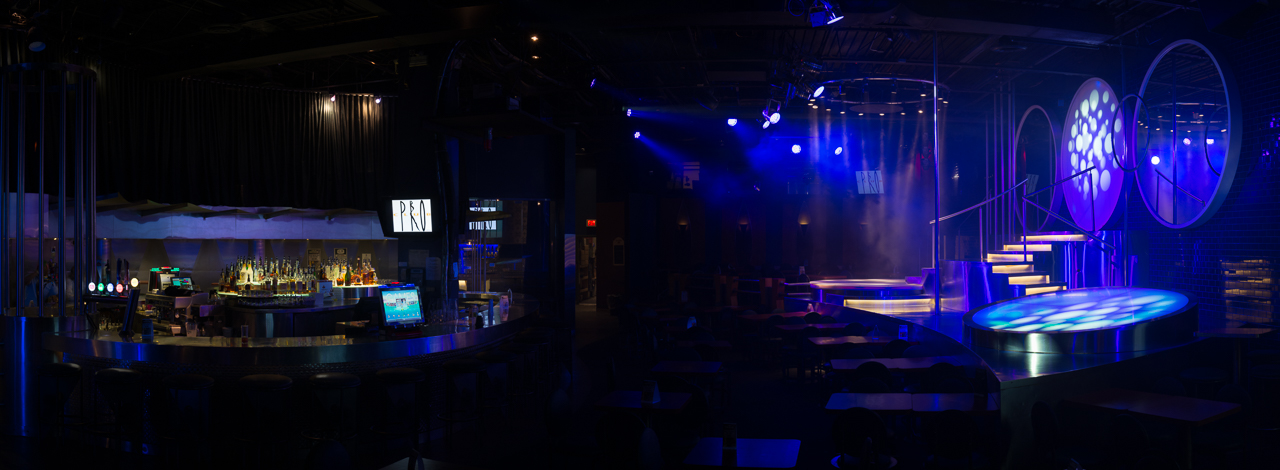 Main stage and main bar area